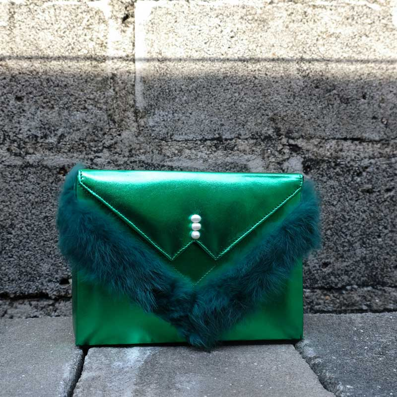 zashadu box clutch green