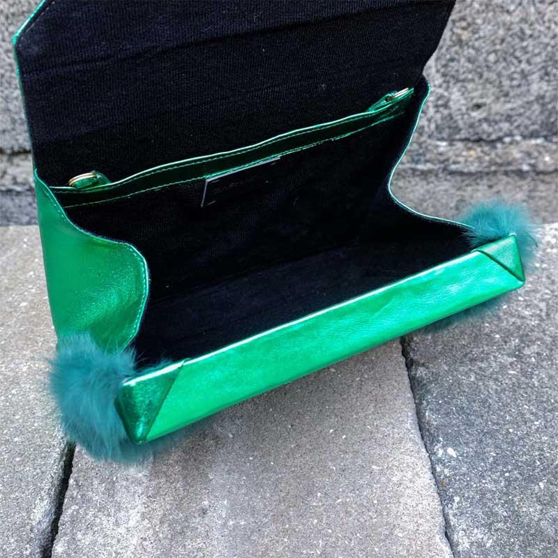 zashadu box clutch green