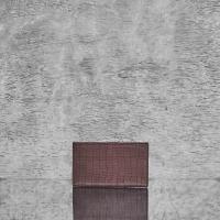 Travel Wallet Walnut Brown Crocodile Embossed Leather Sheep Skin