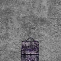 TKO Mini Metallic Distressed Grape Purple Calf Skin