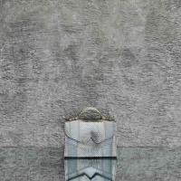 TKO Mini Metallic Grey Cobra Snake Embossed Leather