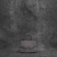 Alpha Classic 2.0 Grey Crocodile Embossed Leather
