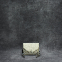 Waist Belt Bag Metallic Champagne Gold Goat Skin