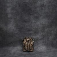 Mini Bucket Bag Metallic Rustic Beige Calf Skin