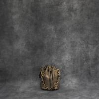 Mini Bucket Bag Metallic Dark Gold Calf Skin